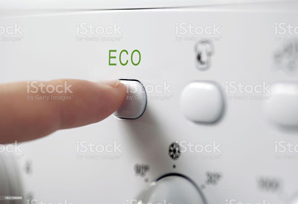 Eco washing royalty-free stock photo