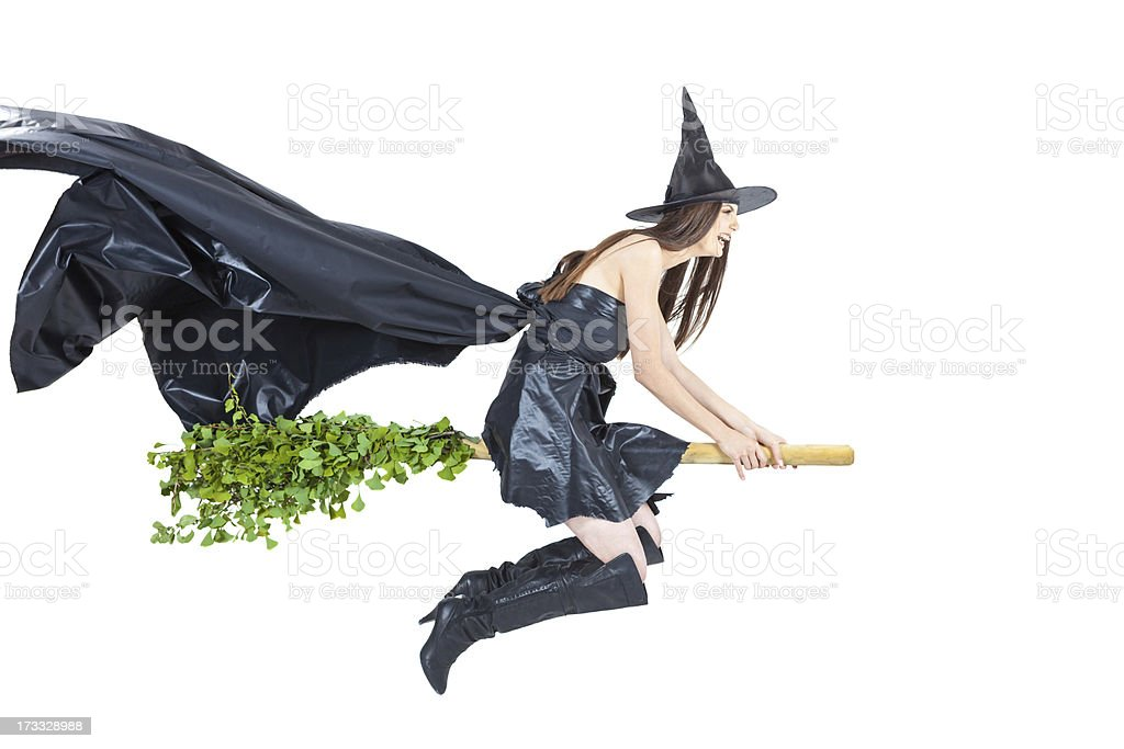 eco witch royalty-free stock photo