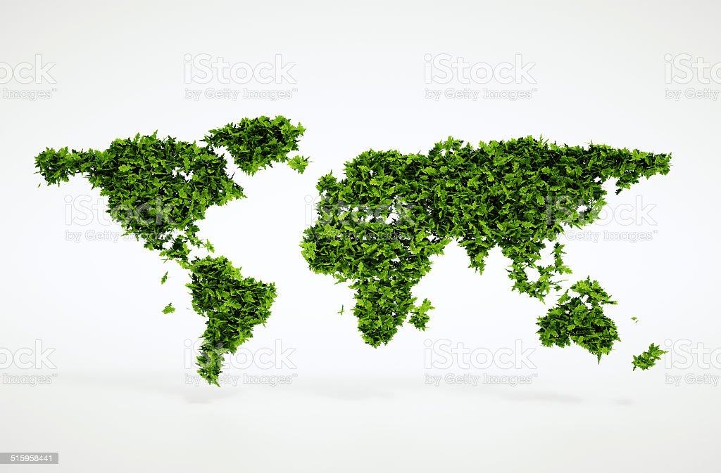 Eco world concept royalty-free stock photo