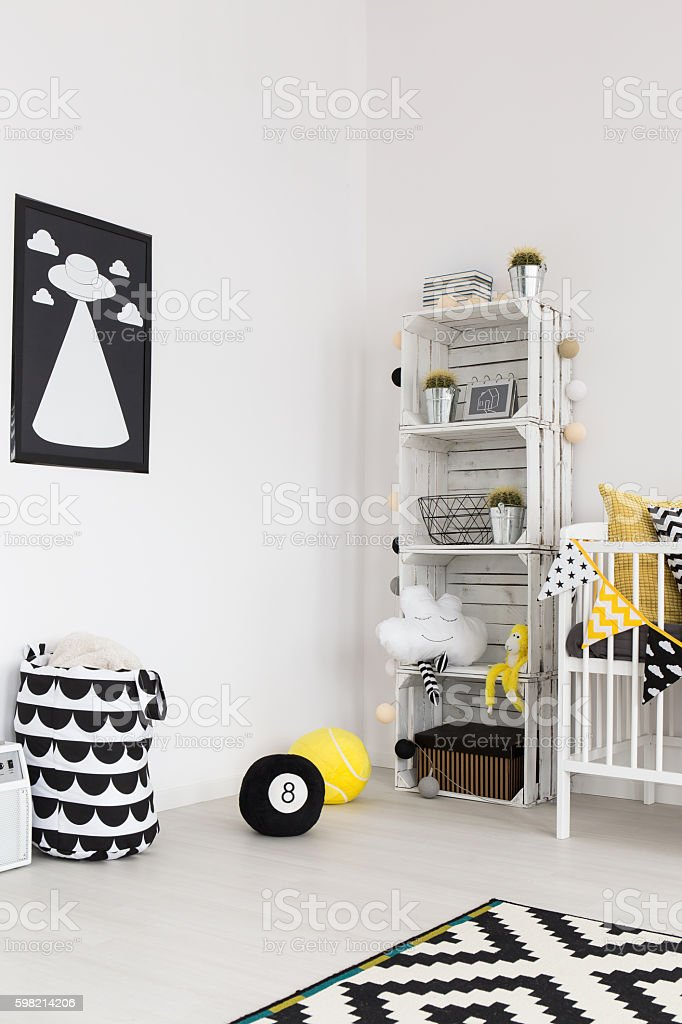 Eco-friendly design for nature-loving parents stock photo