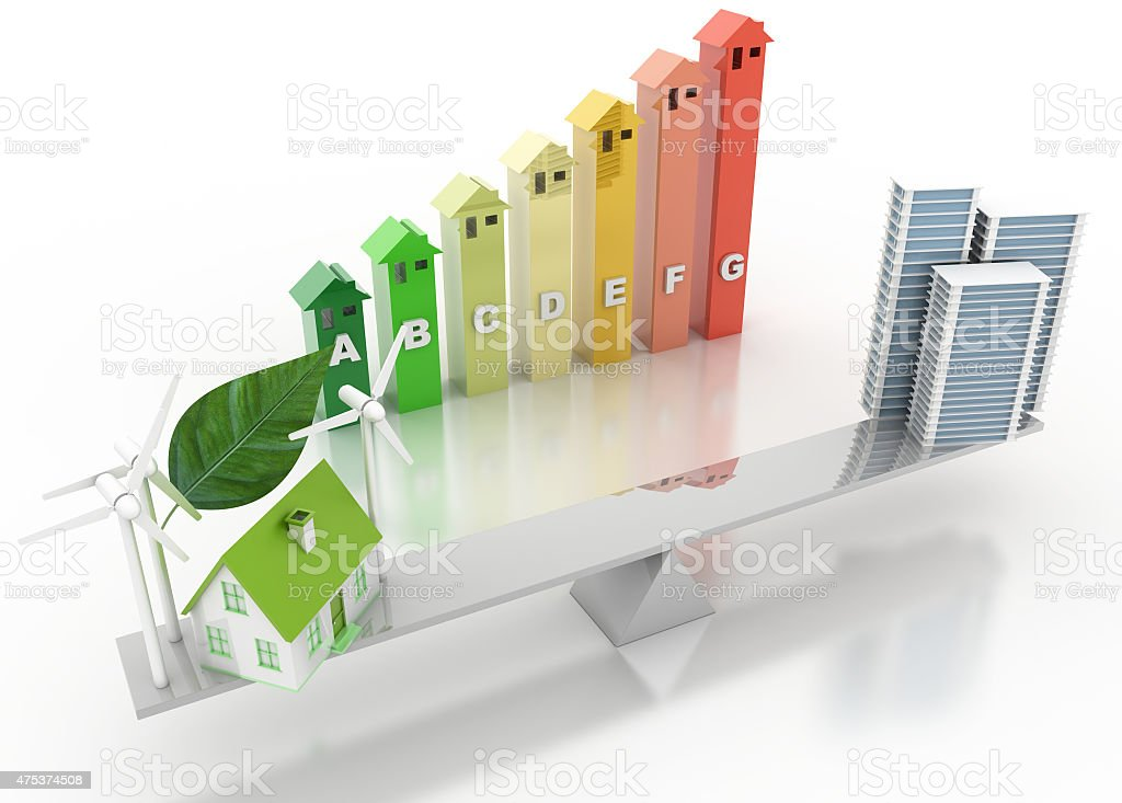 Ecologic concept stock photo