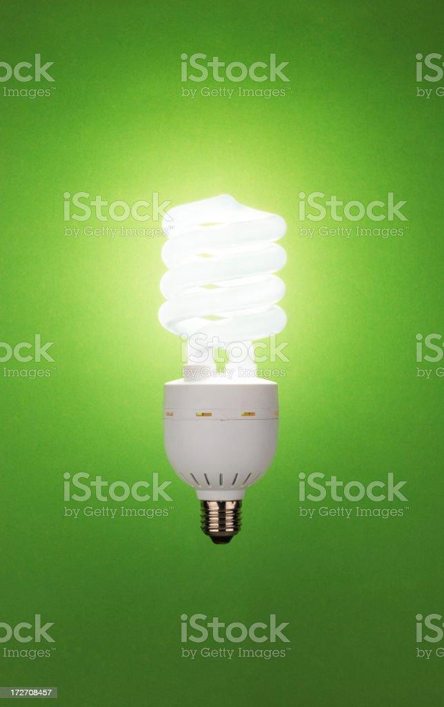 ecologic light bulb stock photo