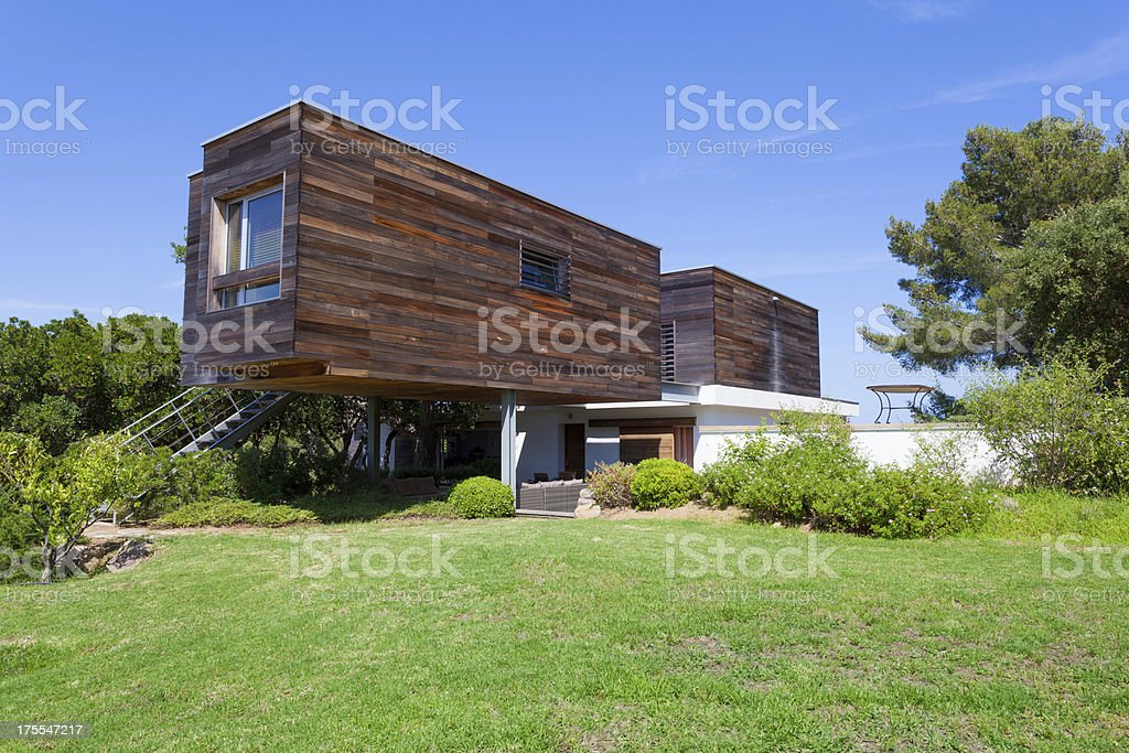 Ecological and Modern Design House royalty-free stock photo