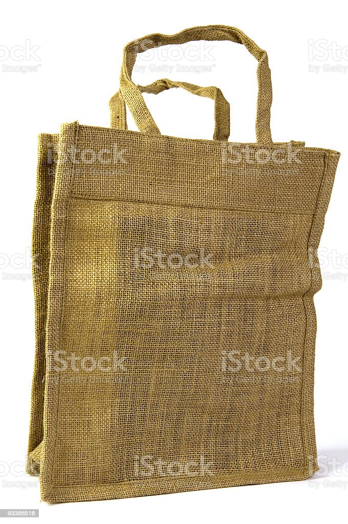 ecological bag royalty-free stock photo