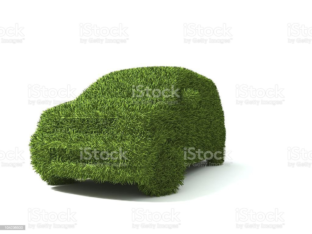ecological car royalty-free stock photo