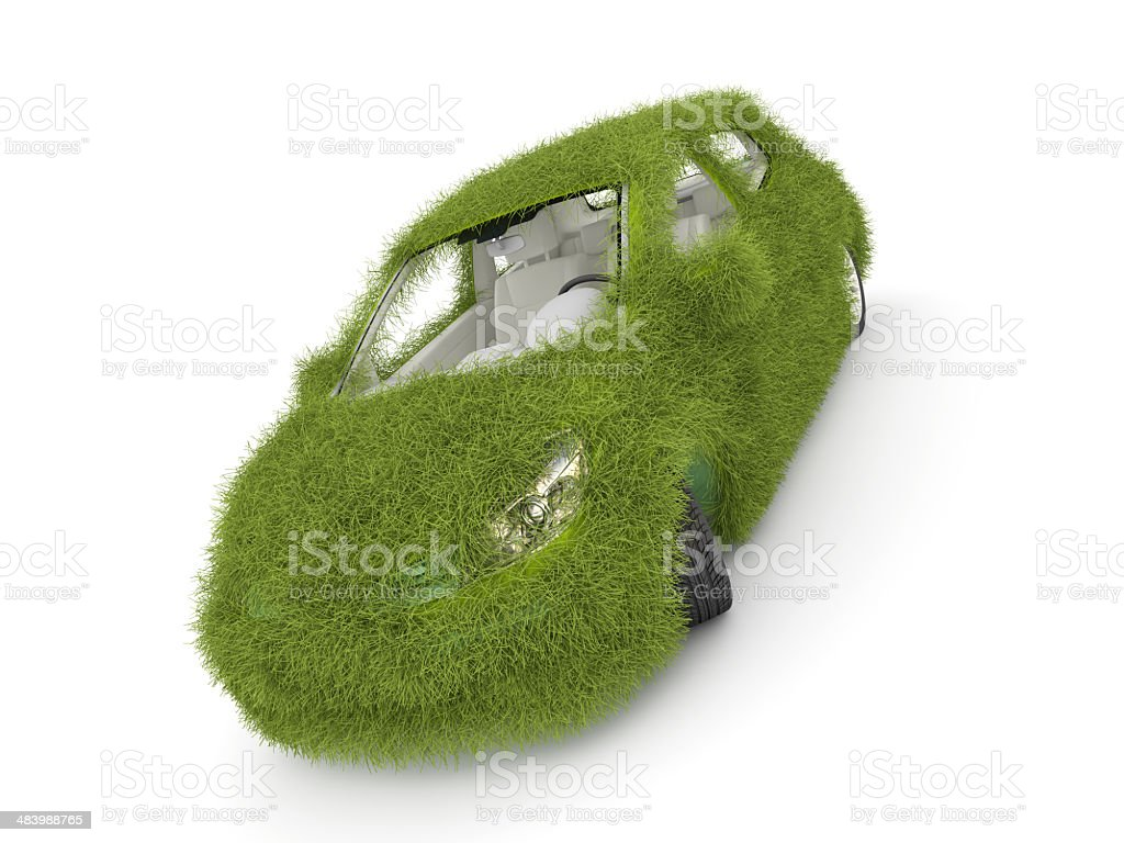 Ecological friendly auto royalty-free stock photo