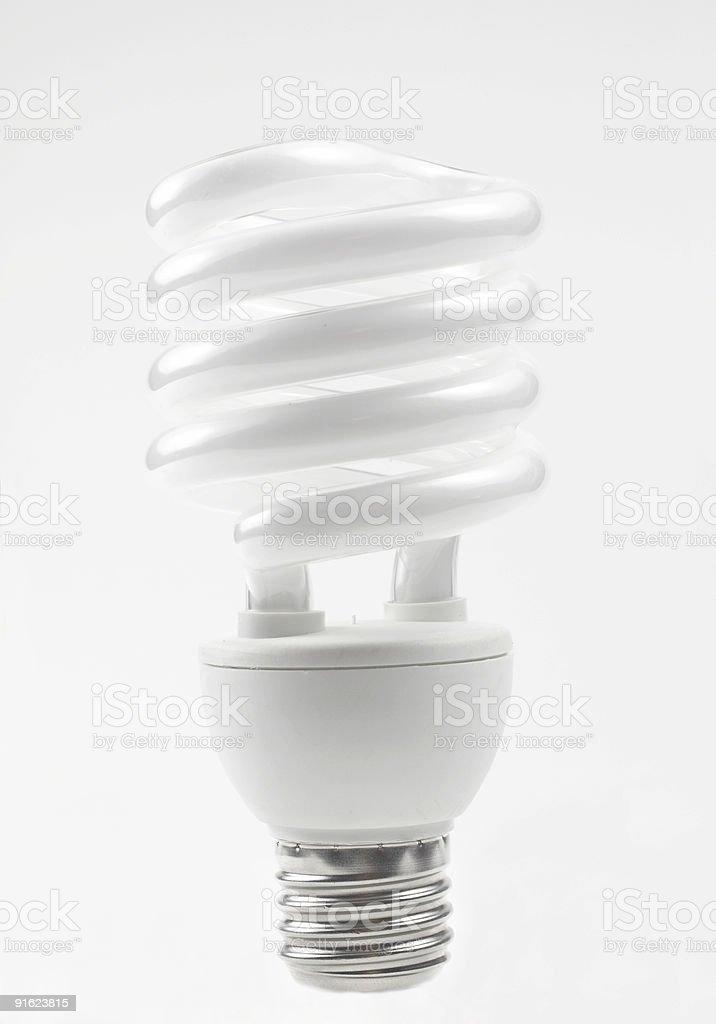 Ecological light bulb royalty-free stock photo