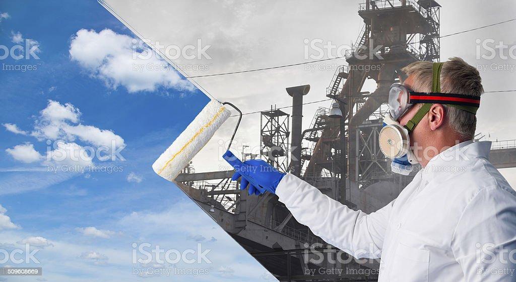 Ecologist stock photo