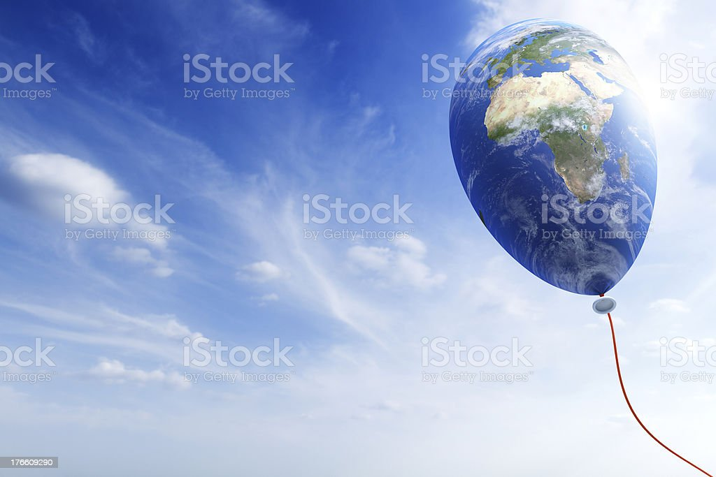 Ecology of the Earth, conceptual image royalty-free stock photo
