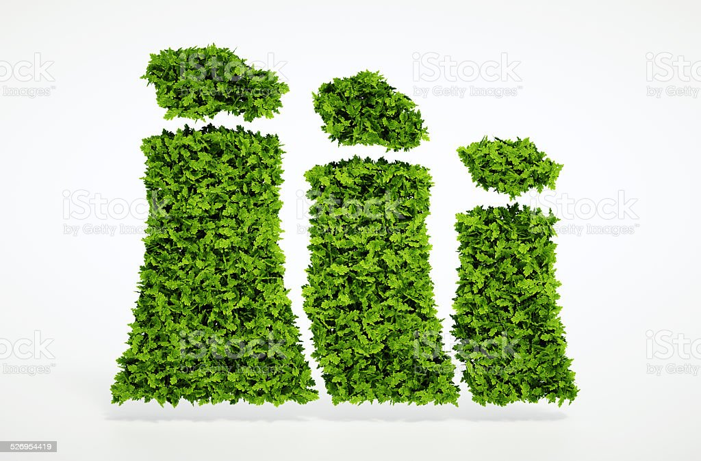 Ecology sustainable energy concept stock photo