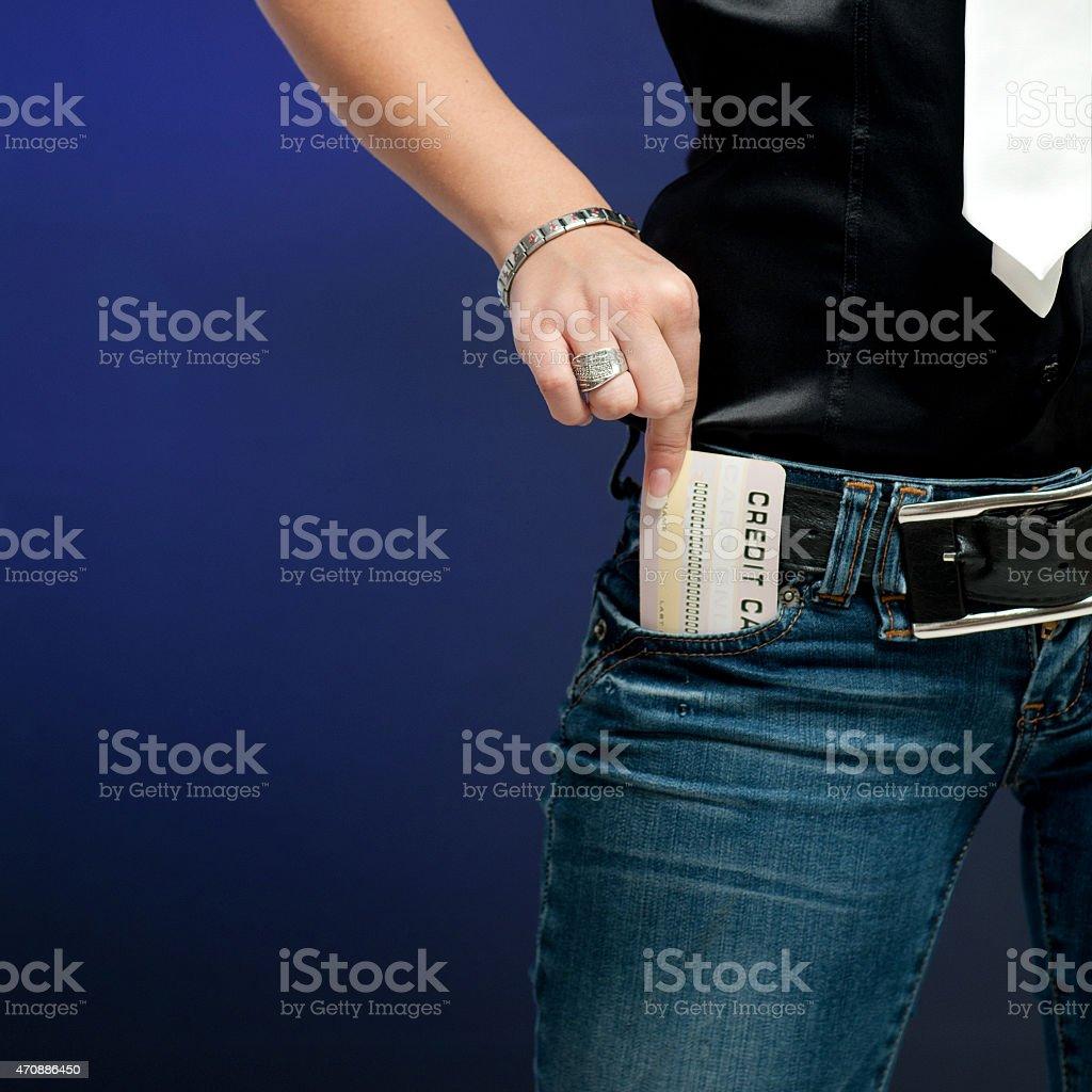 E-comerce card stock photo
