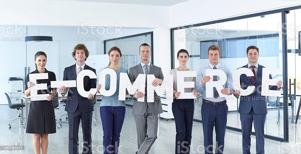 E-Comerce stock photo