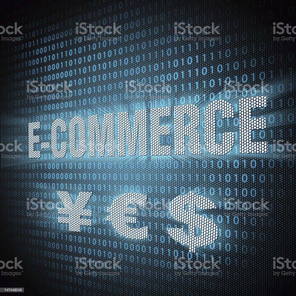 E-commerce concept stock photo