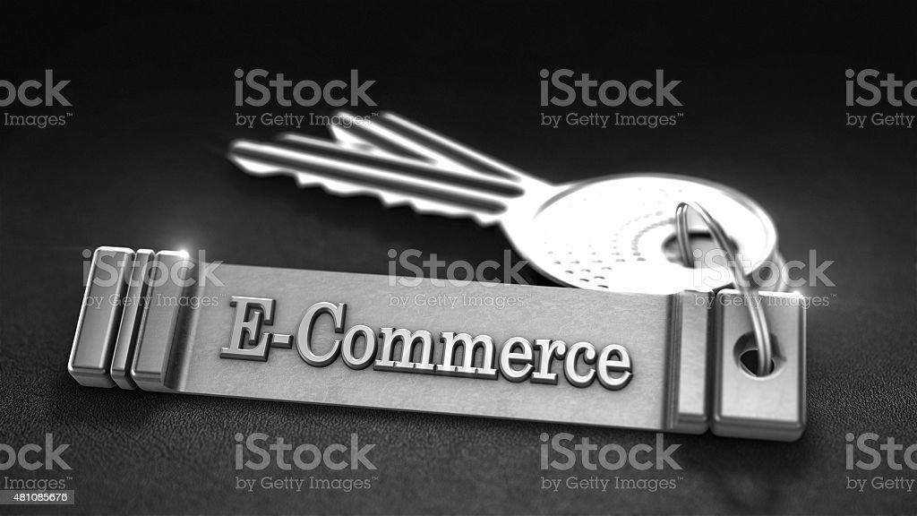 E-commerce Concept photo libre de droits