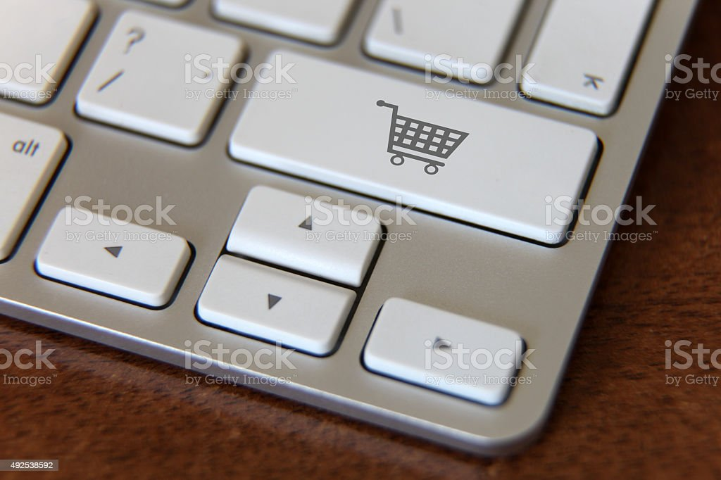 E-commerce internet shopping stock photo