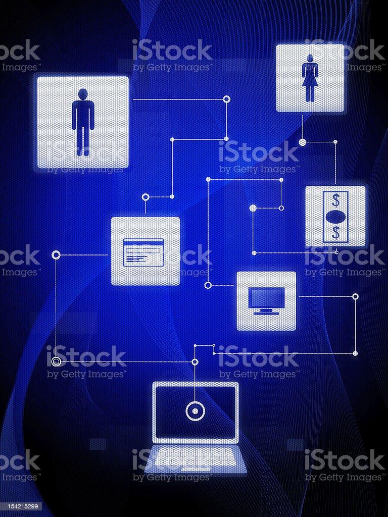 E-commerce royalty-free stock photo