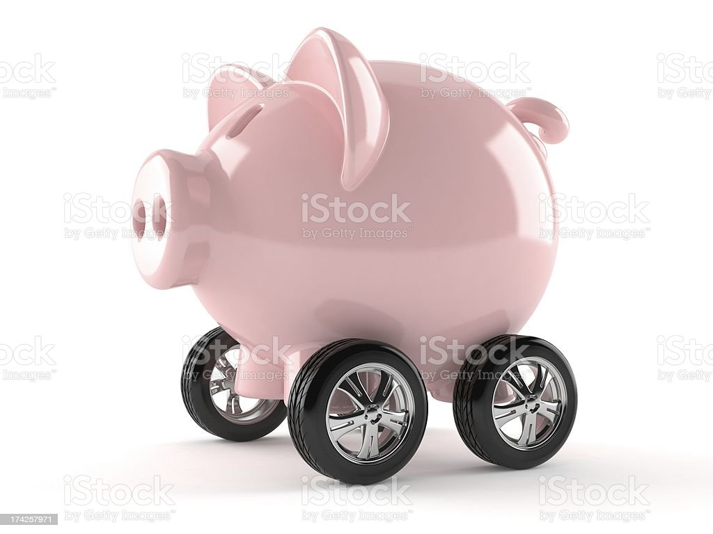Economic car royalty-free stock photo