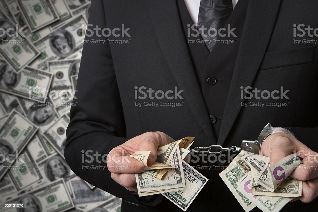 economic crime stock photo