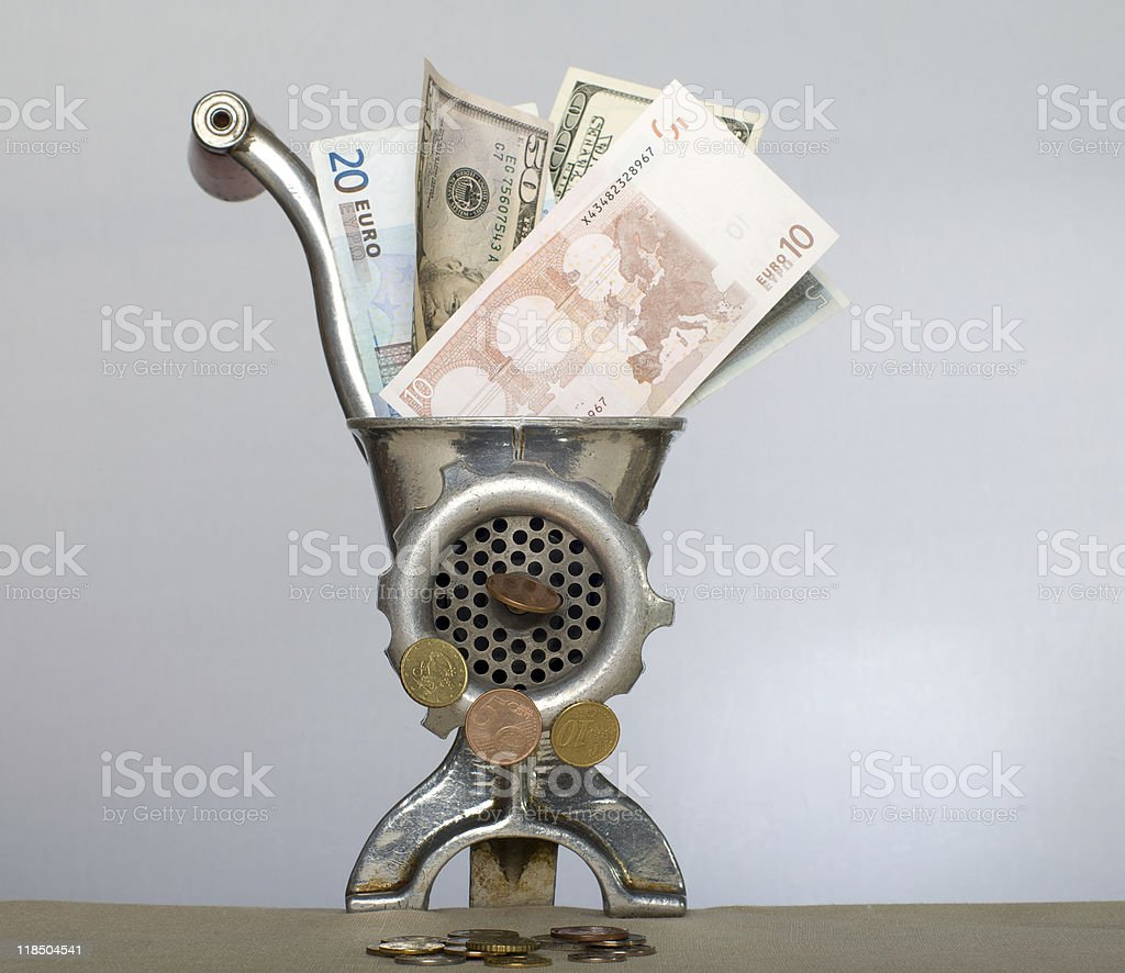 Economic crisis. royalty-free stock photo