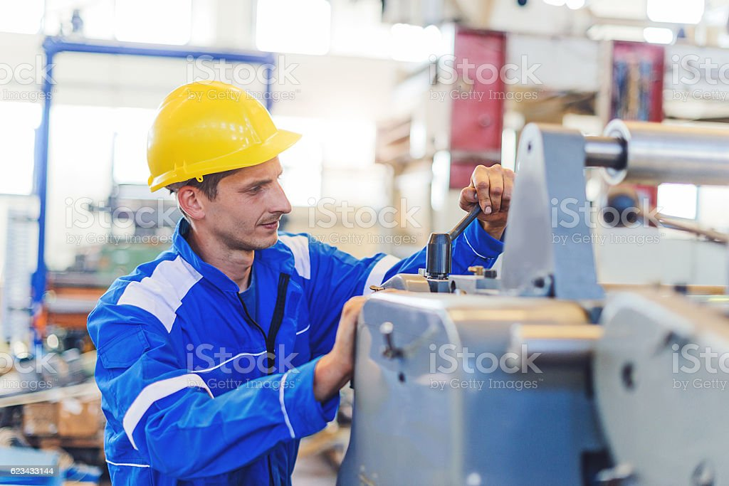 Economic growth based on production and post-processing stock photo