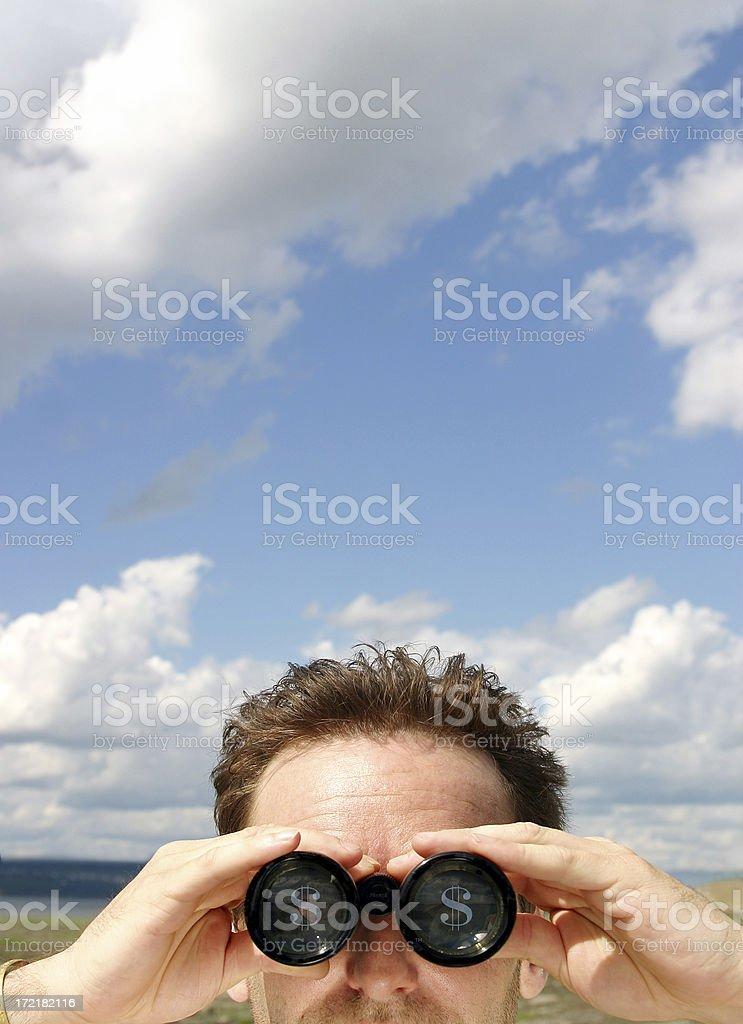Economic perspective royalty-free stock photo