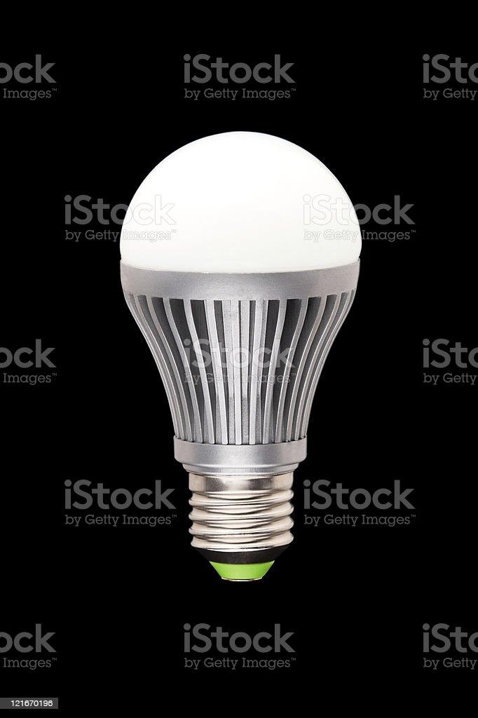 Economical LED lamp stock photo