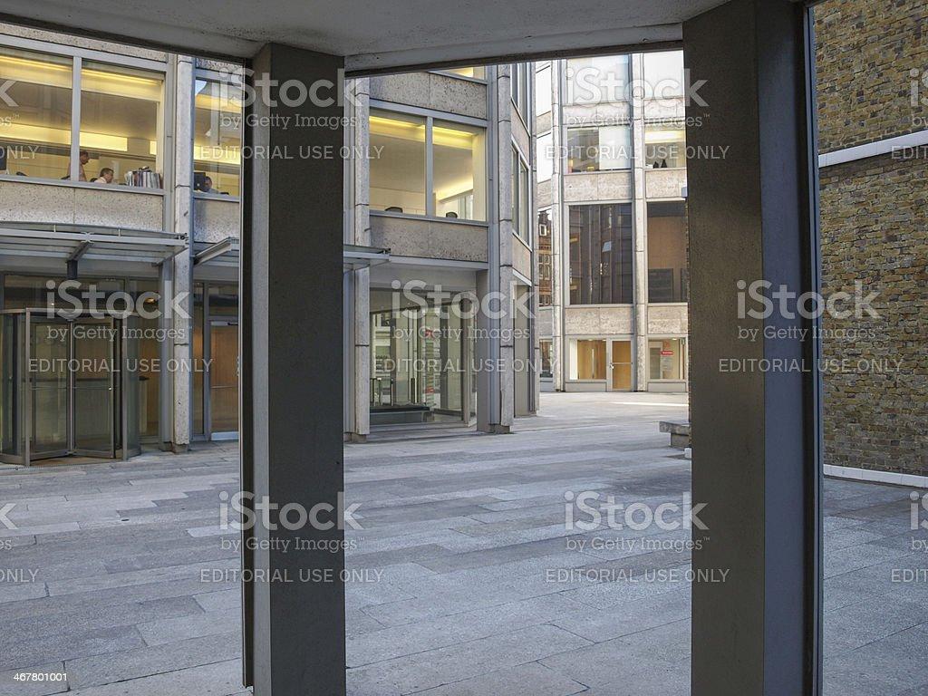 Economist building in London royalty-free stock photo