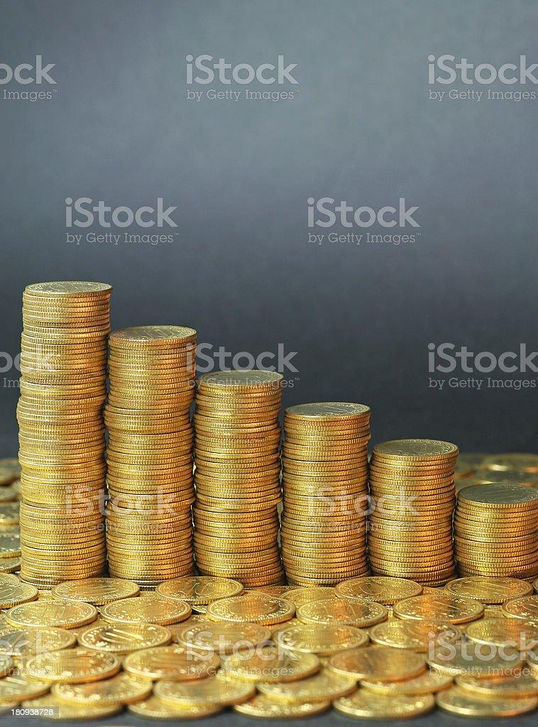 Economy crisis royalty-free stock photo