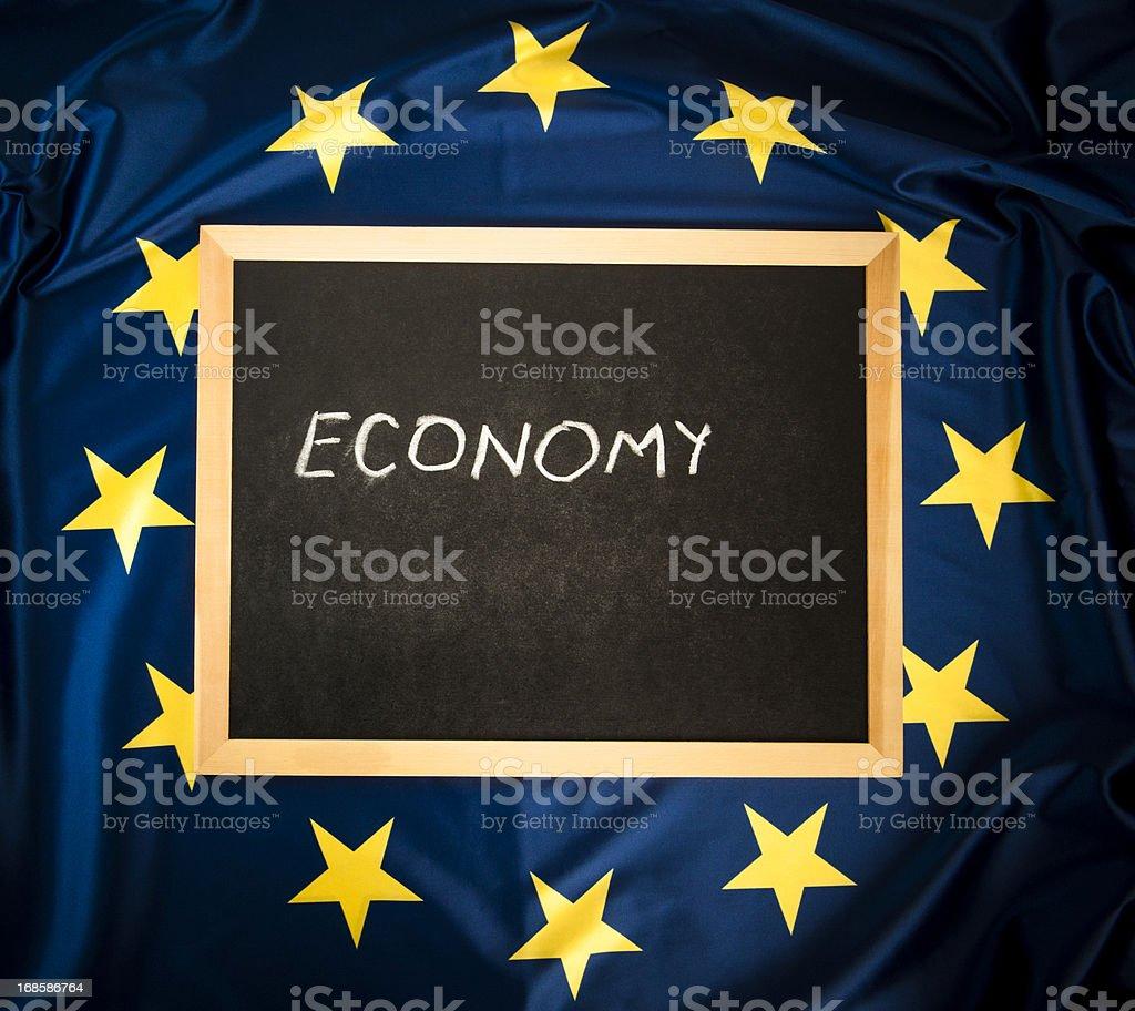 Economy Sign royalty-free stock photo