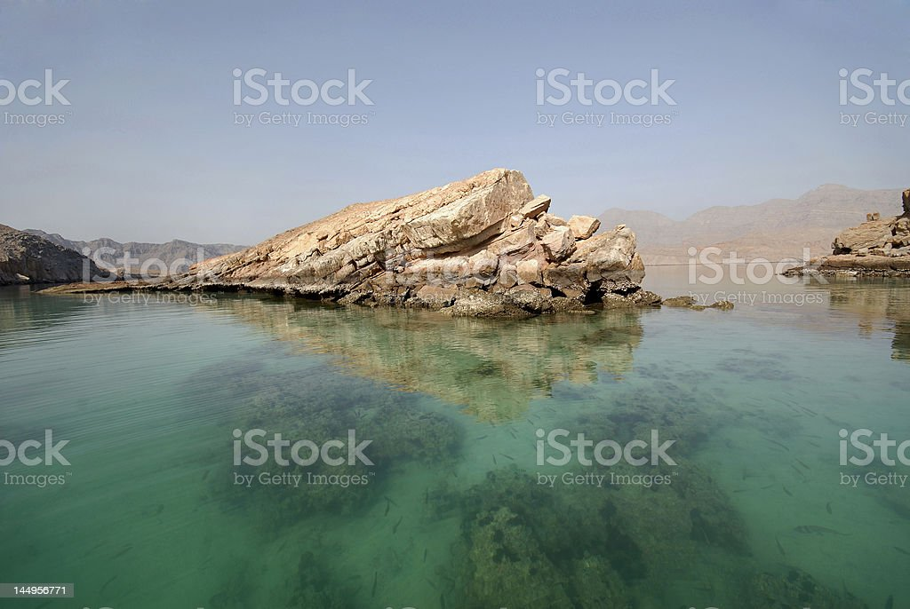 Ecosystem Of Musandam royalty-free stock photo