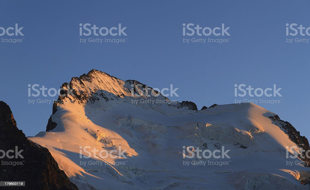 Barre des Ecrins royalty-free stock photo