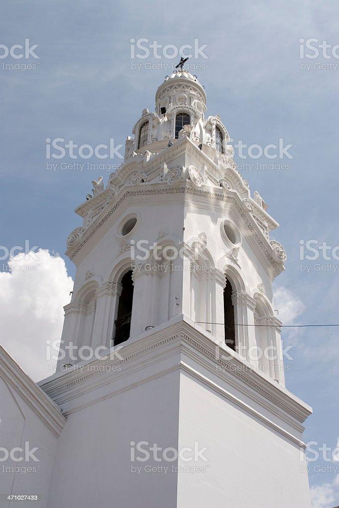 Ecuador: Quito Church stock photo