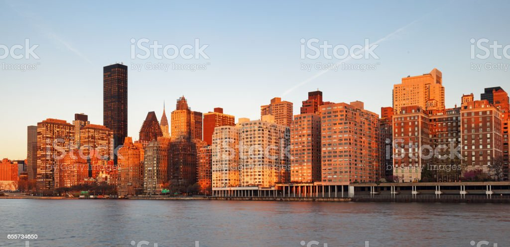 Ed Koch Queensboro Bridge from Manhattan. It is also known as the 59th Street Bridge as it is located between 59th and 60th Streets. stock photo