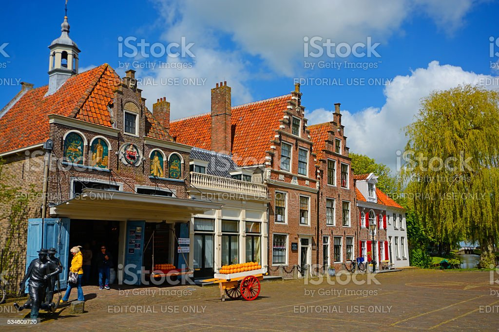 Edam stock photo