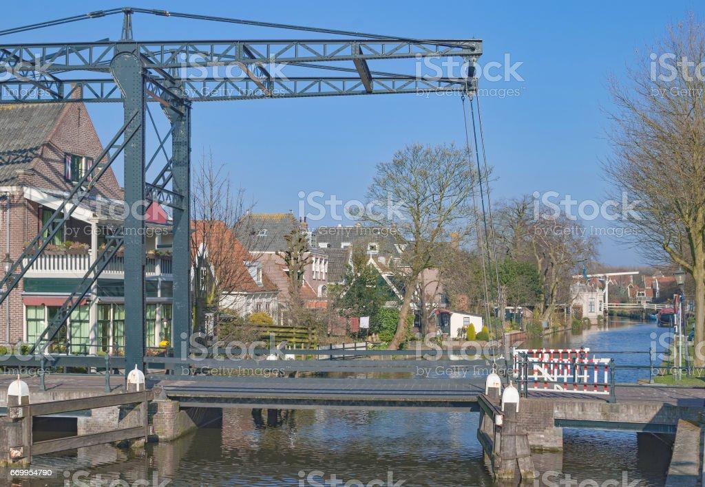 Edam Town,Netherlands,Benelux stock photo