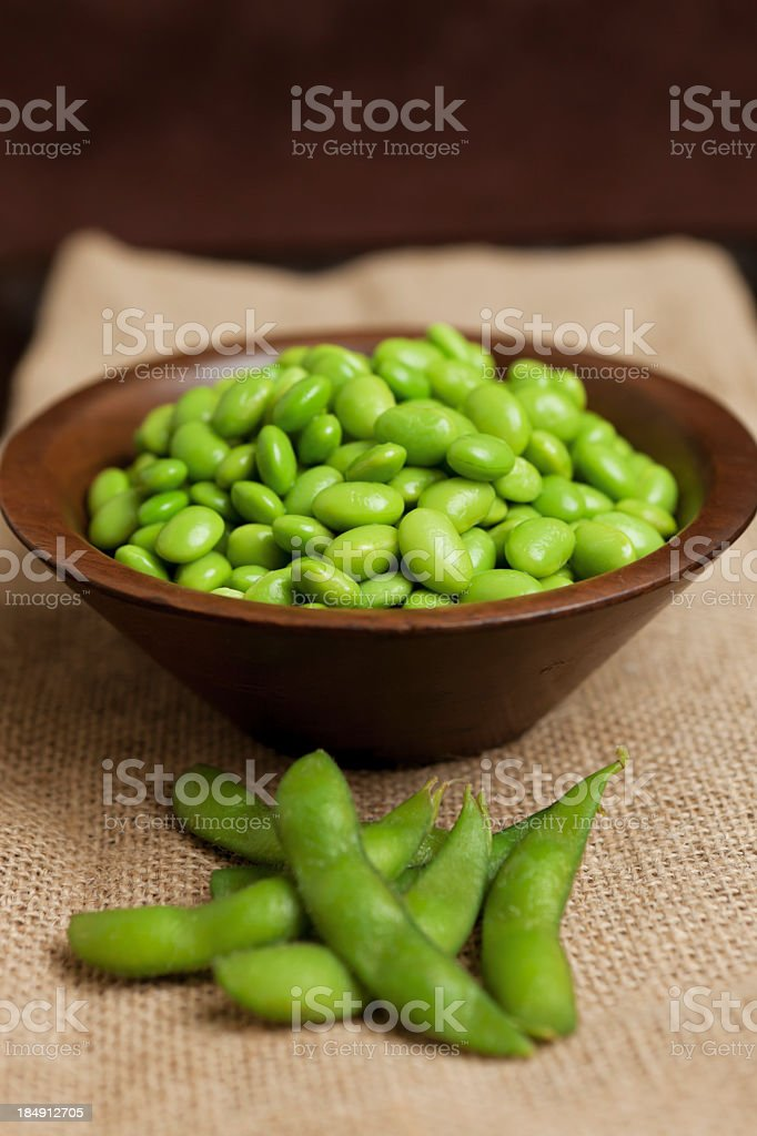 Edamame royalty-free stock photo