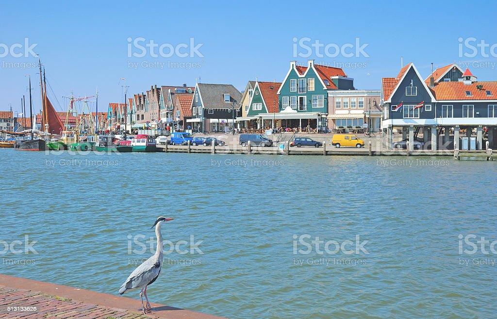 Edam-Volendam,Ijsselmeer,Netherlands stock photo