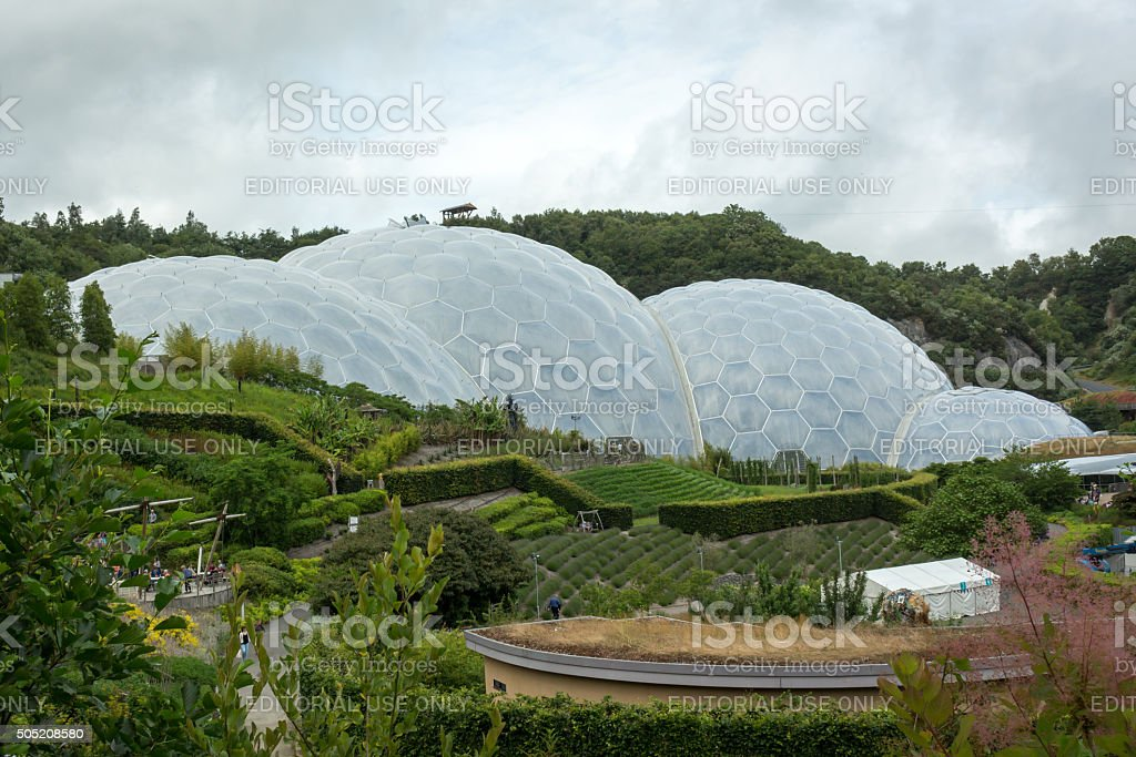 Eden Project stock photo