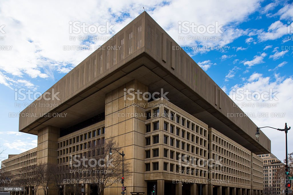 J. Edgar Hoover Building stock photo