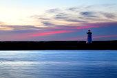Edgartown Harbor Light on Martha's Vineyard