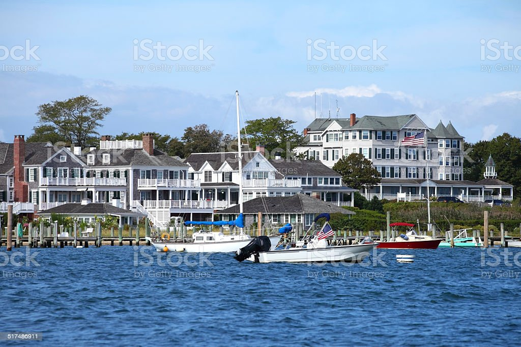 Edgartown, Martha's Vineyard stock photo