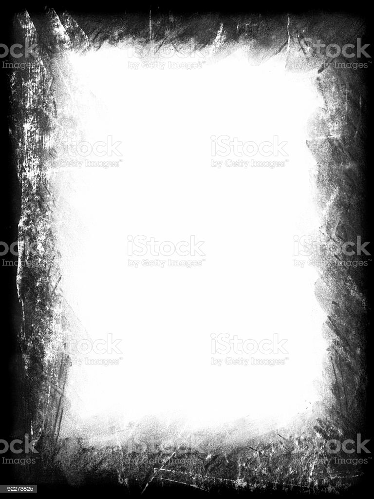Edge - Charcoal Rubbed royalty-free stock photo