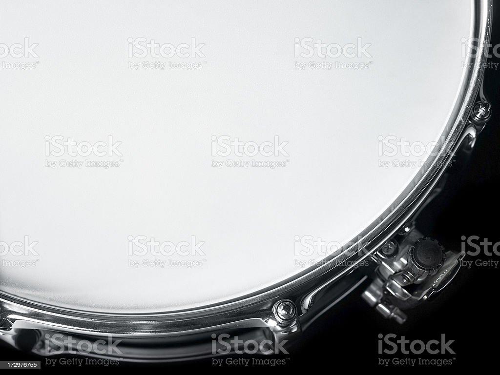 edge of drum stock photo