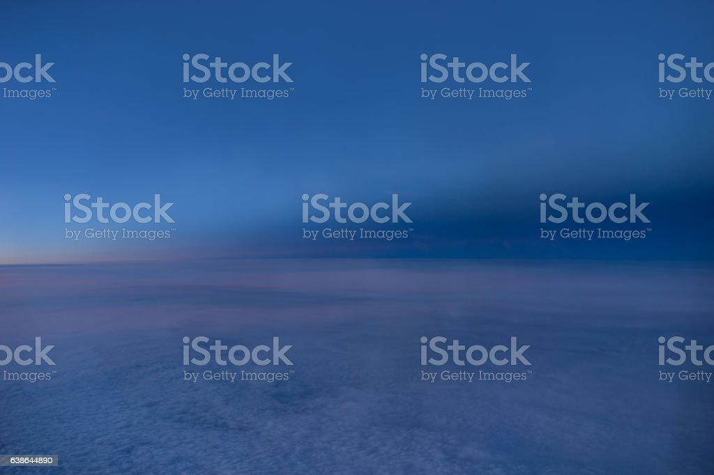 Edge of night stock photo