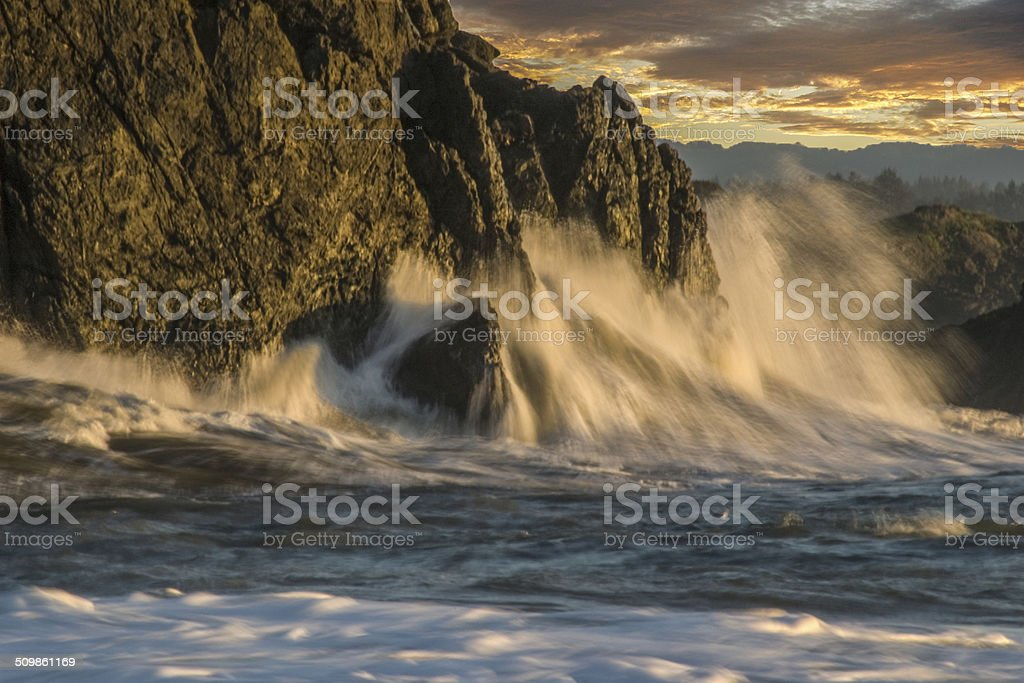 Edge of the Continent stock photo