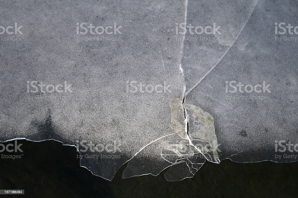 Edge of the Ice royalty-free stock photo
