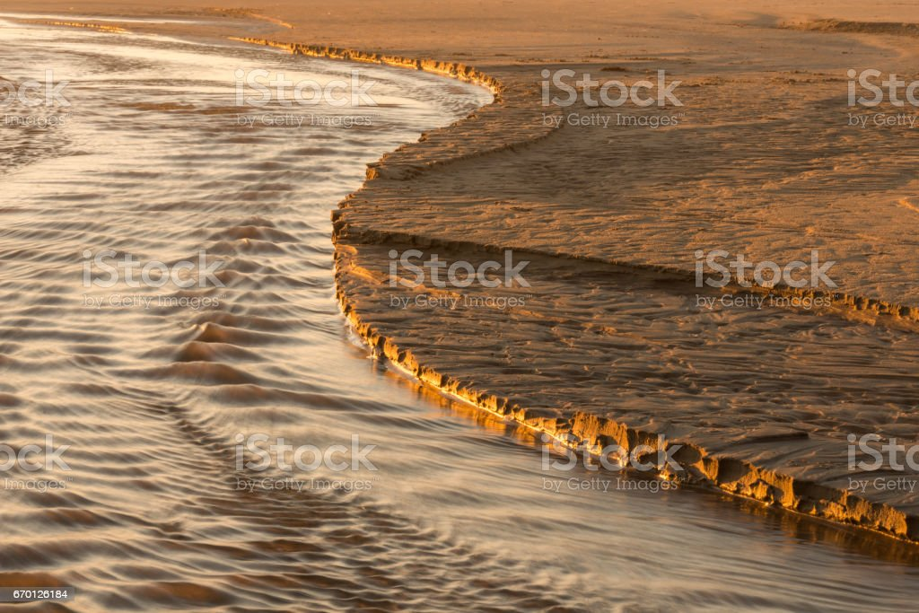Edge of the Water stock photo