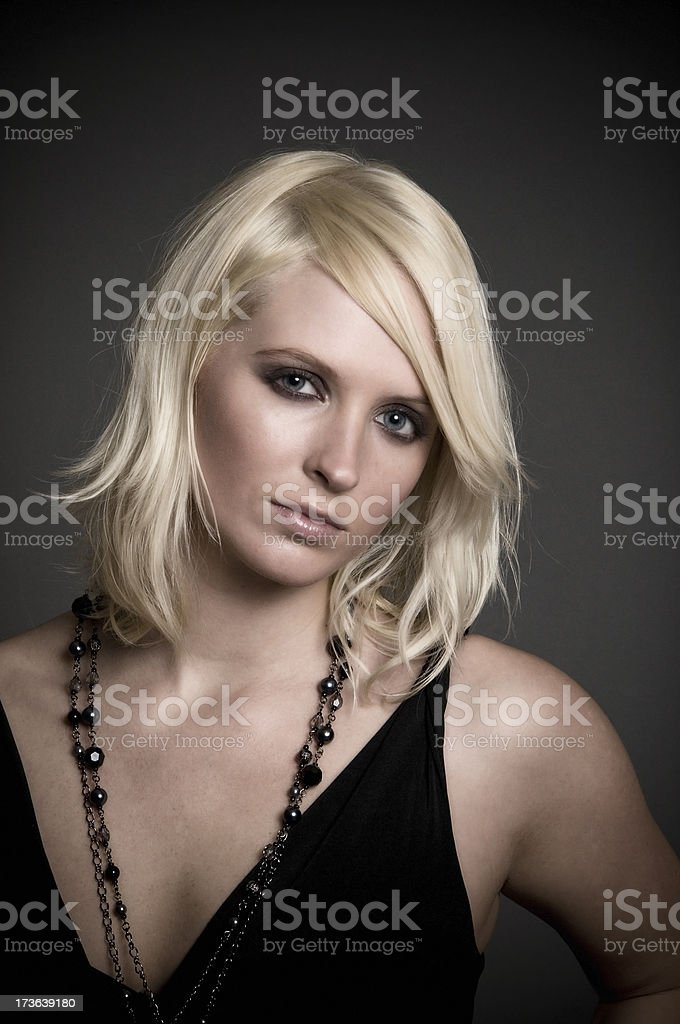 Edgy Portrait Series royalty-free stock photo