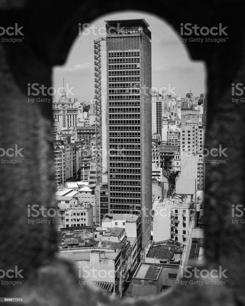 Edifício Martinelli stock photo