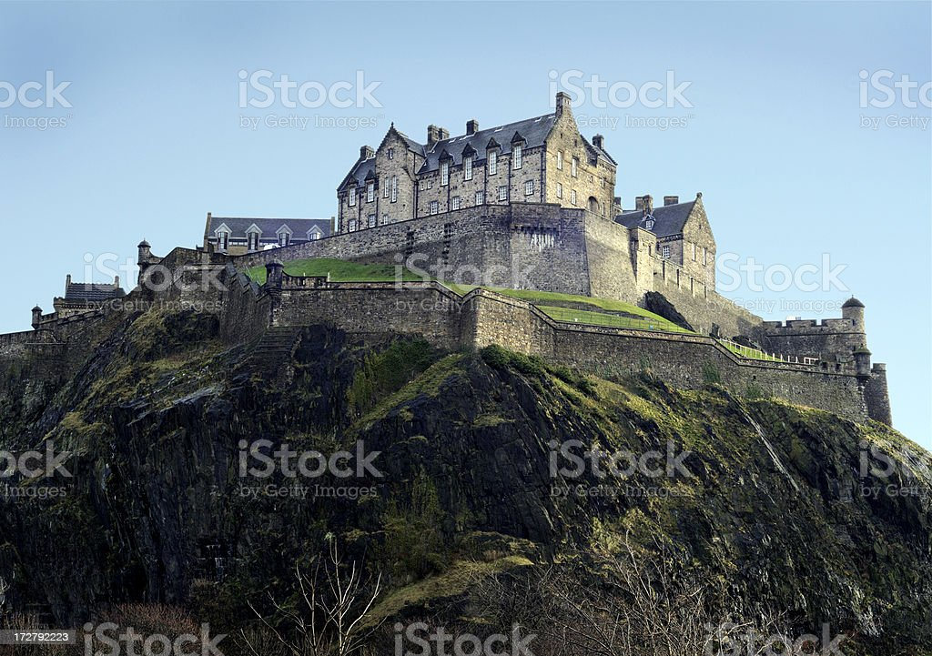 Edinburgh Castle (XL) stock photo